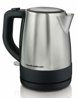 Hamilton Beach Electric Water Kettle 1L Stainless Steel Mesh