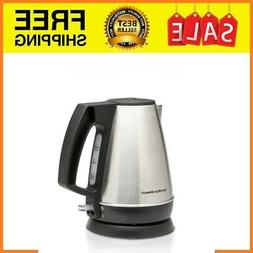 Home Electric Kettle Hamilton Beach Stainless Steel Cordless