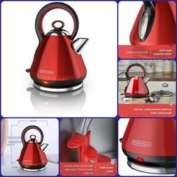 Home Kitchen Rapid Boil Stainless Steel Electric Cordless Ke