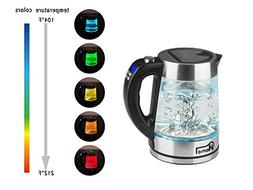 JHome Electric Kettle Temperature Control With 5 Colors Chan