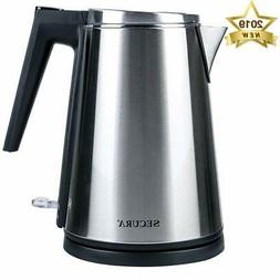 Secura K15-F1E Double Wall Stainless Steel Electric Kettle W