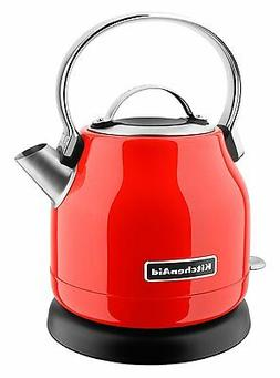 KitchenAid KEK1222HT Electric Kettle, 1.25 L, Hot Sauce