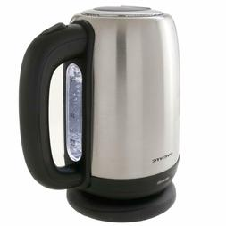 Kettle Electric 1 Water Tea Cordless Stainless Steel Boiler