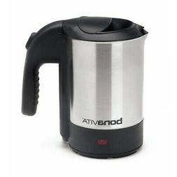 Kettle Electric Brushed Stainless Steel Coffee Tea Espresso