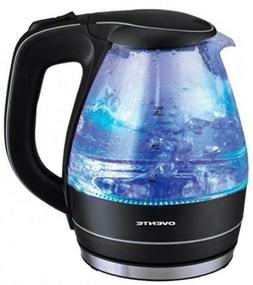 Ovente KG83 Series 1.5L Kettle Glass Electric, Black