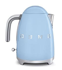 Smeg KLF01PBUS 50's Retro Style Aesthetic Electric Kettle, P