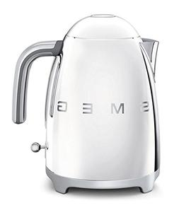 Smeg KLF01SSUS 50's Retro Style Aesthetic Electric Kettle, S