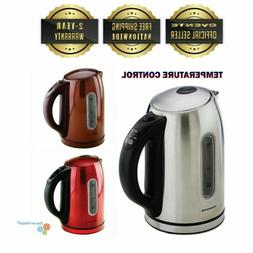Ovente KS89 1.7L BPA Free Stainless Steel Electric Kettle Au