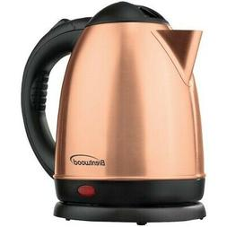 BRENTWOOD KT-1780RG Electric Stainless Steel Kettle