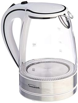 Brentwood Kt-1900W Glass Electric Kettle, 1.7 Liter - Two ye