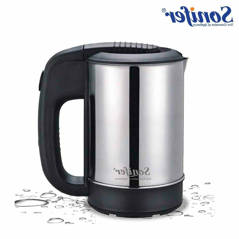 0.5L Mini Electric Kettle Stainless Steel 1000W Portable Tra