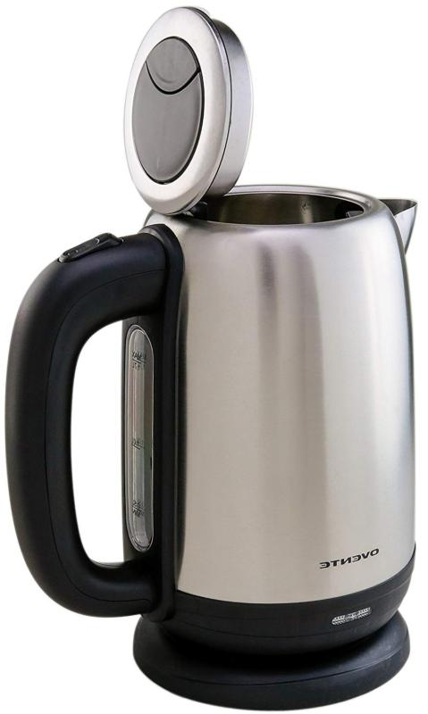 Ovente 1.7 Liter Stainless Electric Left/Rig