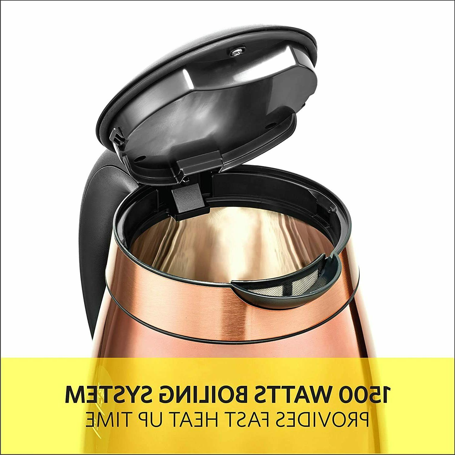 1.7 Electric Kettle Copper