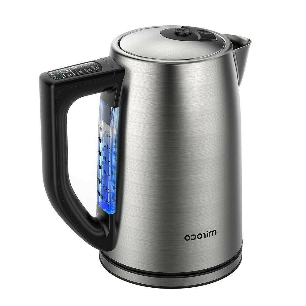 1.7 Liter Kettle Temperature Control Hot Water Boiler Coffee