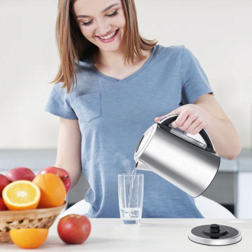 1.7L Electric Kettle Stainless