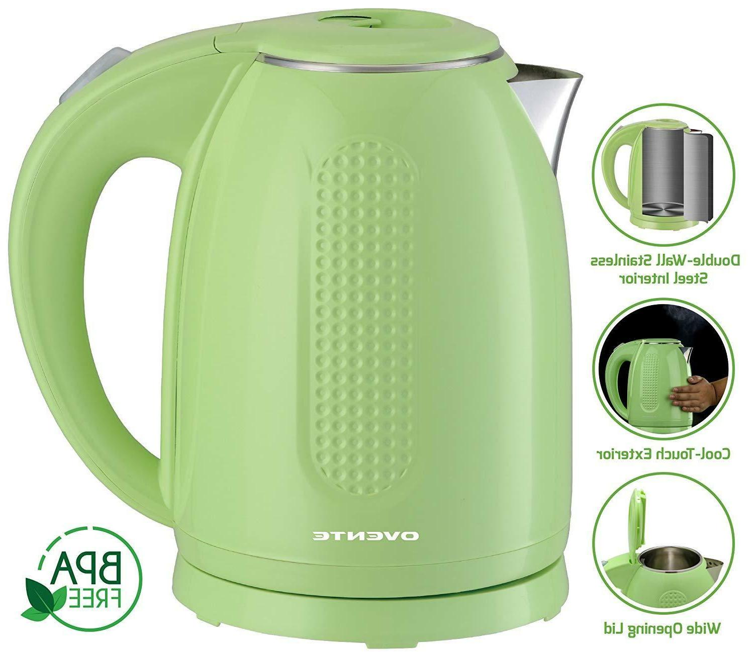 Ovente Electric Water Kettle 1100 Watts Auto KD64