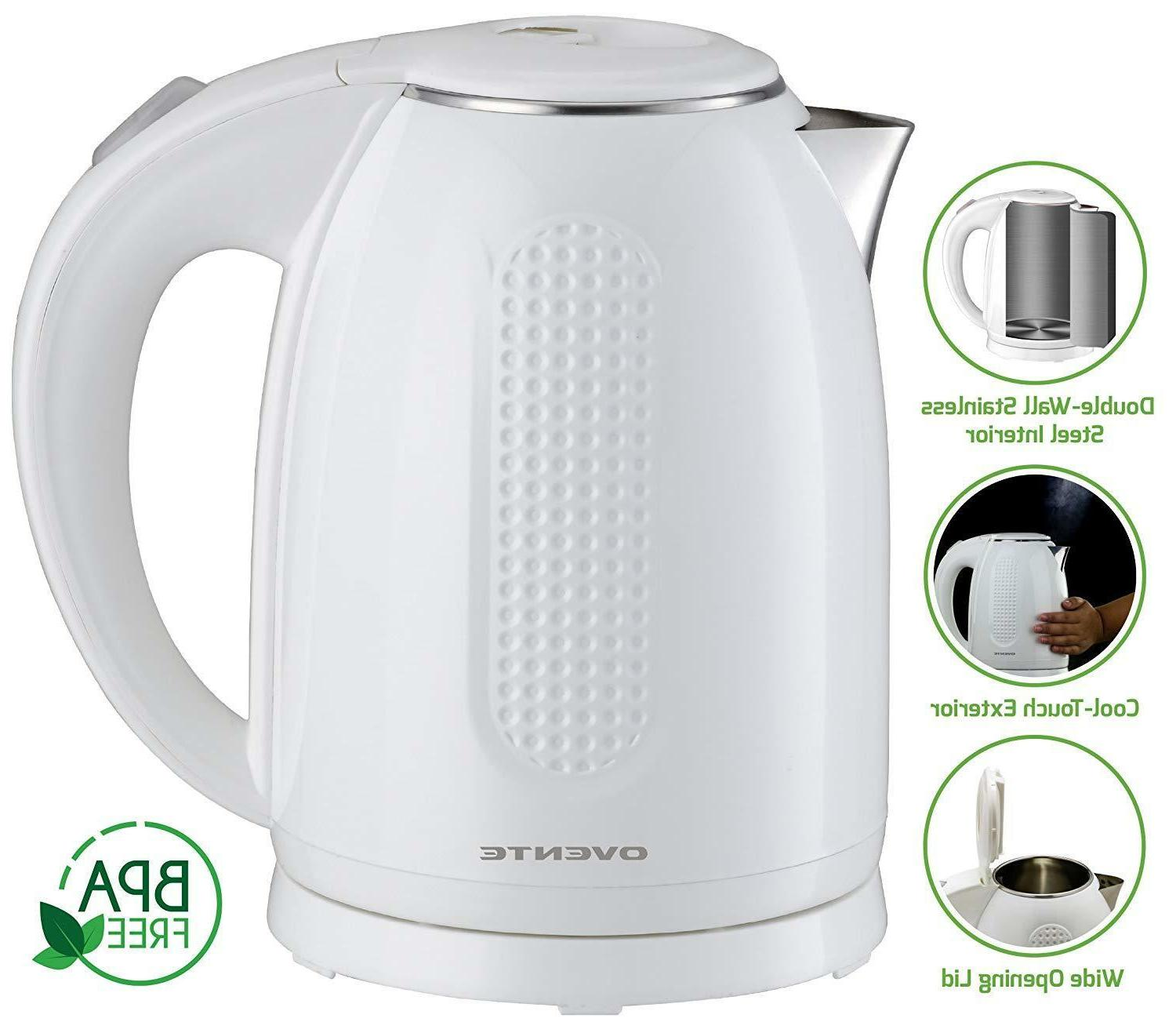 Ovente Electric Kettle 1.7 Liter 1100 KD64