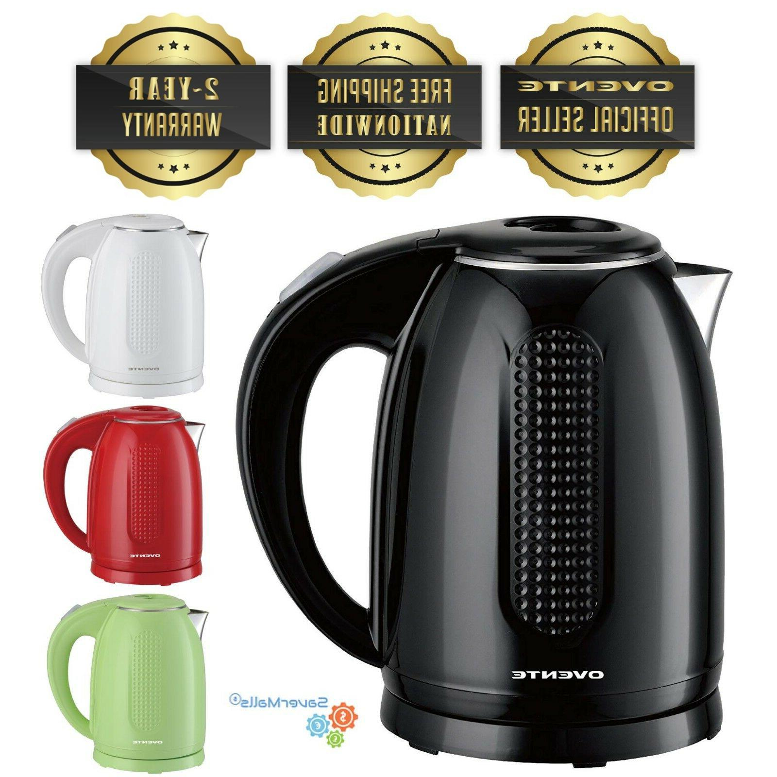 1 7l double wall electric kettle cordless