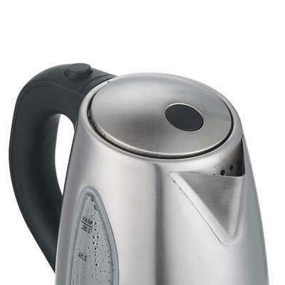New Kettle 1.8L Stainless Water Tea Off