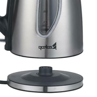 1500W Kettle Coffee Pot Hot Fast 1.8L