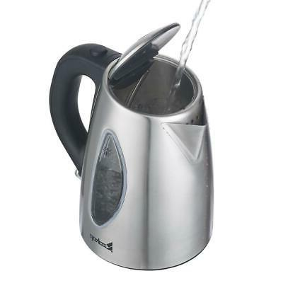 ZOKOP Electric 1.8L Stainless Water Boiler with Off