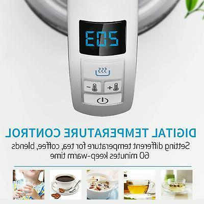 2 in Kettle With Infuser Temperature Control 1.7L