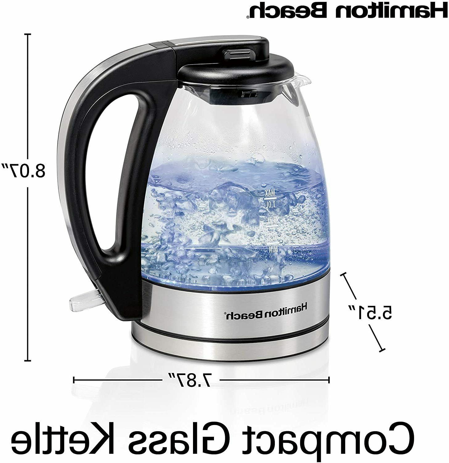 Glass Electric Kettle Tea and