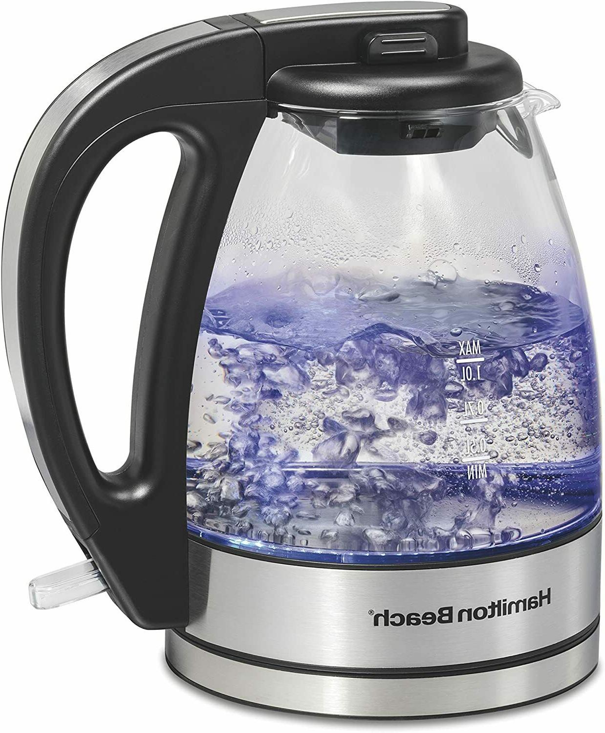 1 liter glass electric kettle for tea