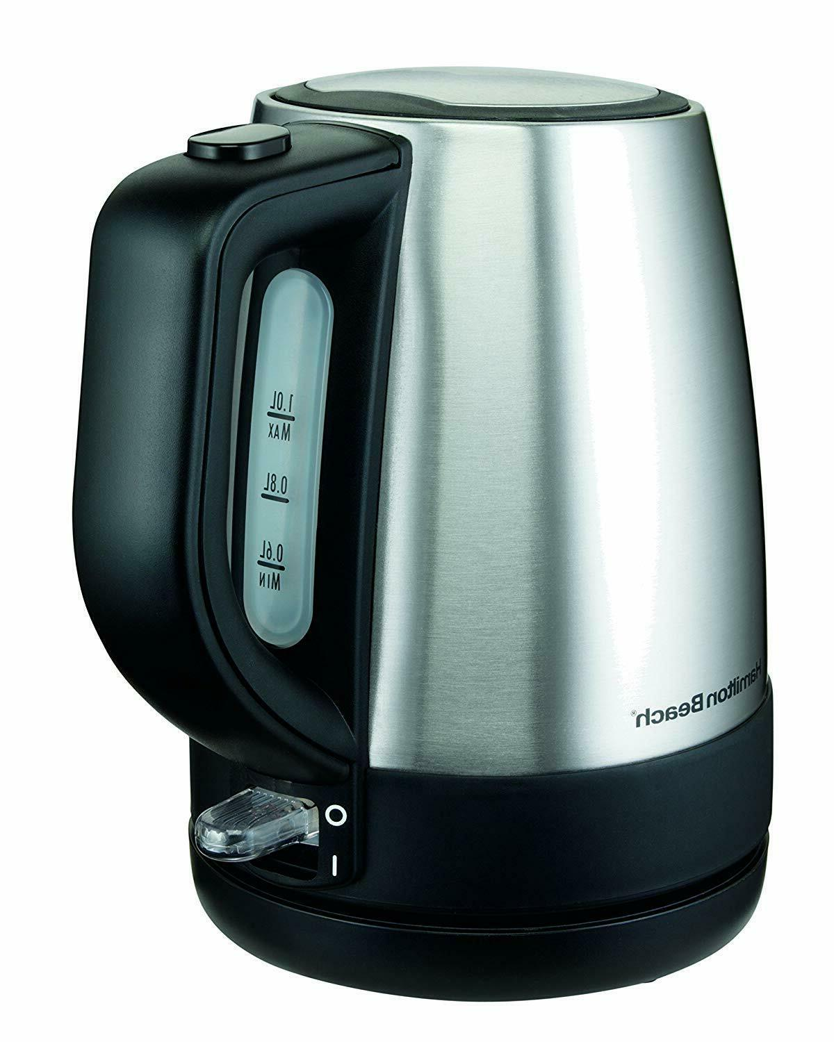 Hamilton 1 L Stainless Kettle Silver