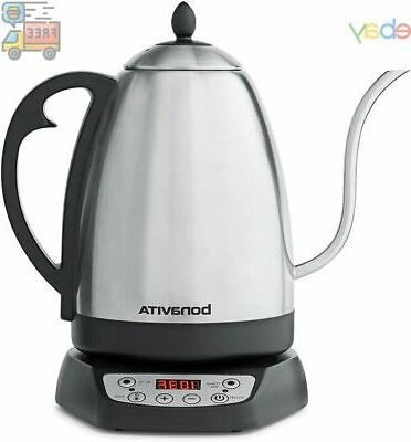 Bonavita 1.7L Variable Temperature Kettle Featuring Goosenec