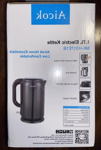 Aicok Black 1.7 Electric Kettle