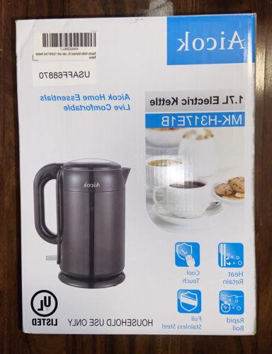 black 1 7 l electric kettle mk