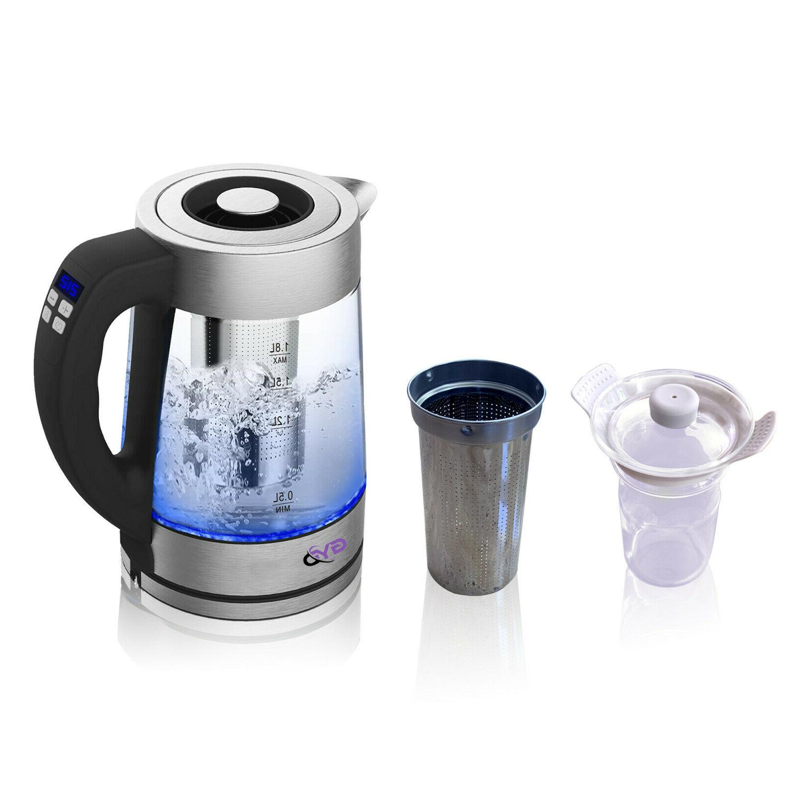 bpa electric kettle precise temperature