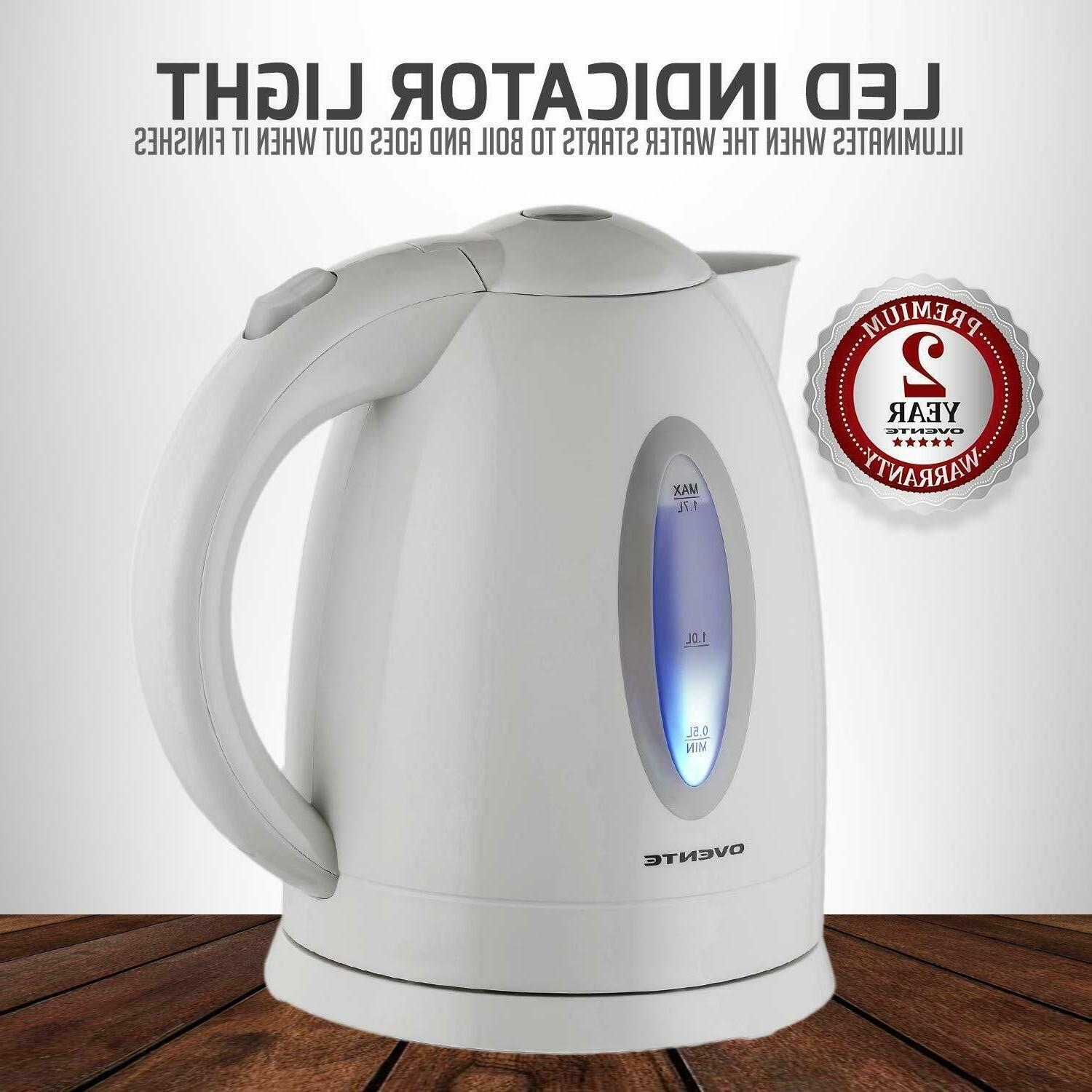 Electric Tea Steel Cordless Boiler