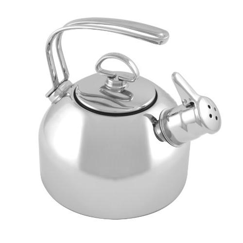 classic stainless tea kettle