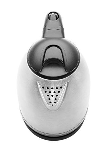 Cordless 1.7 Liter Stainless Electronic Hot Kettle Kettle, L, Pouring