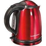 1L CORDLESS ELECTRIC KETTLE REDPERPSTAINLESS STEEL