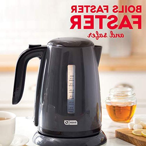 Dash Easy Kettle with Rapid Boil, Cool Touch Handle, + for Tea, & More, / 1.7L,