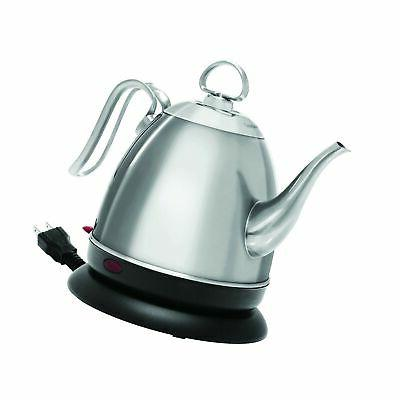 Ovente KG83 Series 1.5L Glass Electric Kettle, White, New, F