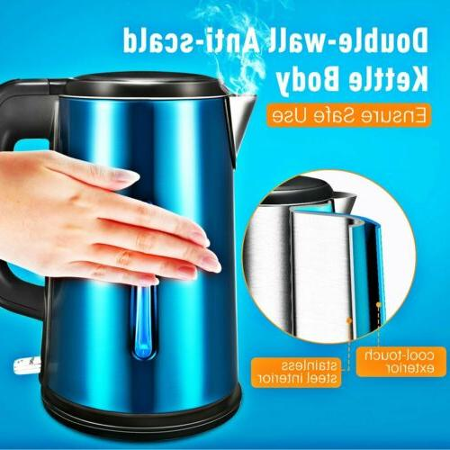 1.8L Cordless Electric Kettle Fast Boiling Auto
