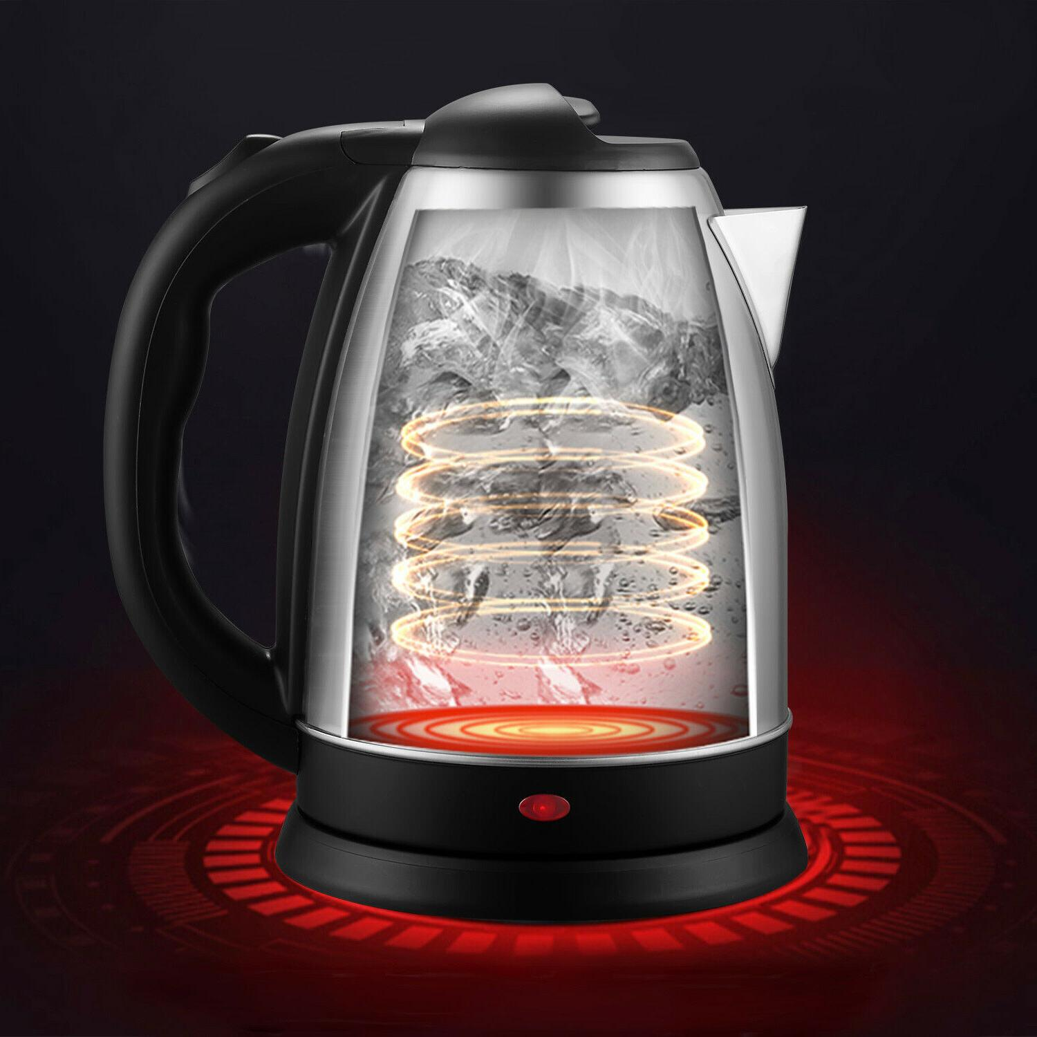 Dezin Kettle, 2L Stainless Steel Water with Auto Shut Off Tech
