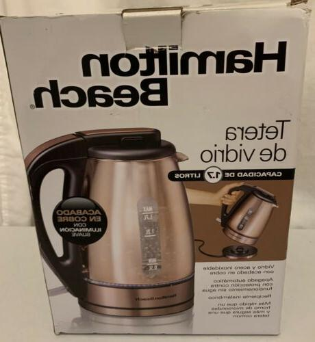 electric kettle copper 40866