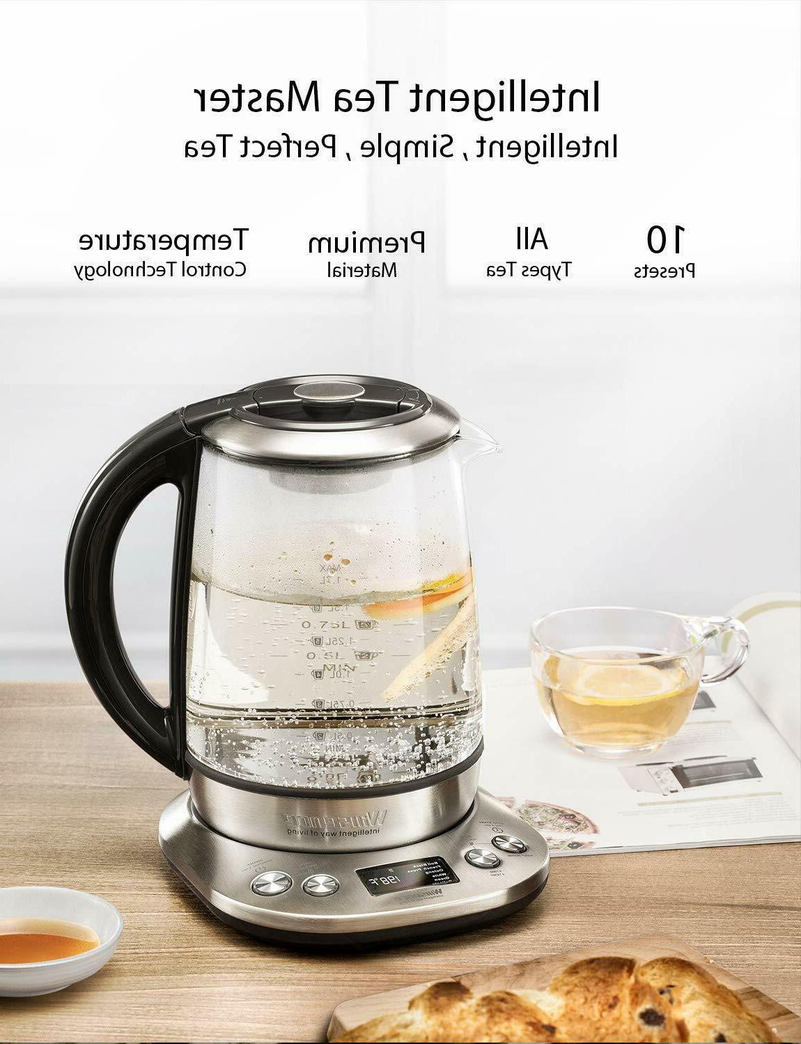 Willsence Kettle, Tea Stainless Glass Hot