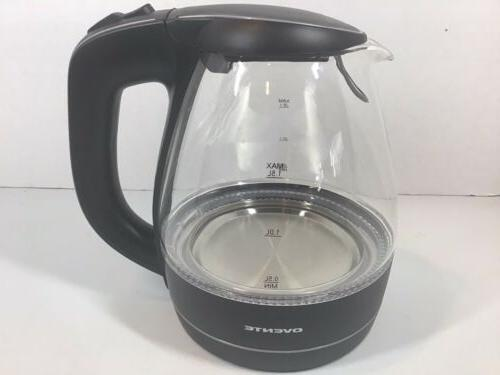 electric kettle glass and lid only 1