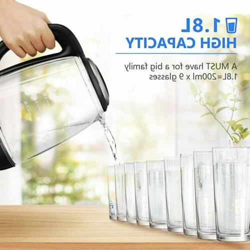 1.8L Glass Kettle LED