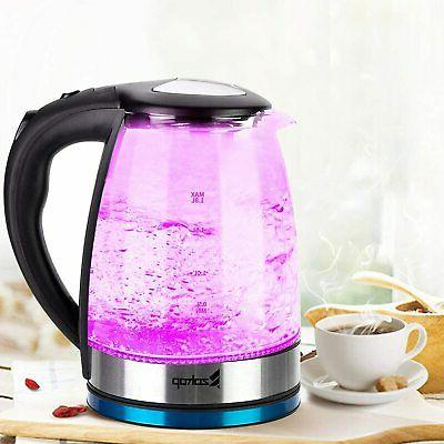 Electric Glass Boiler Fast Boiling Kettle US