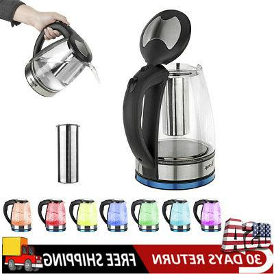 electric kettle glass water boiler fast boiling