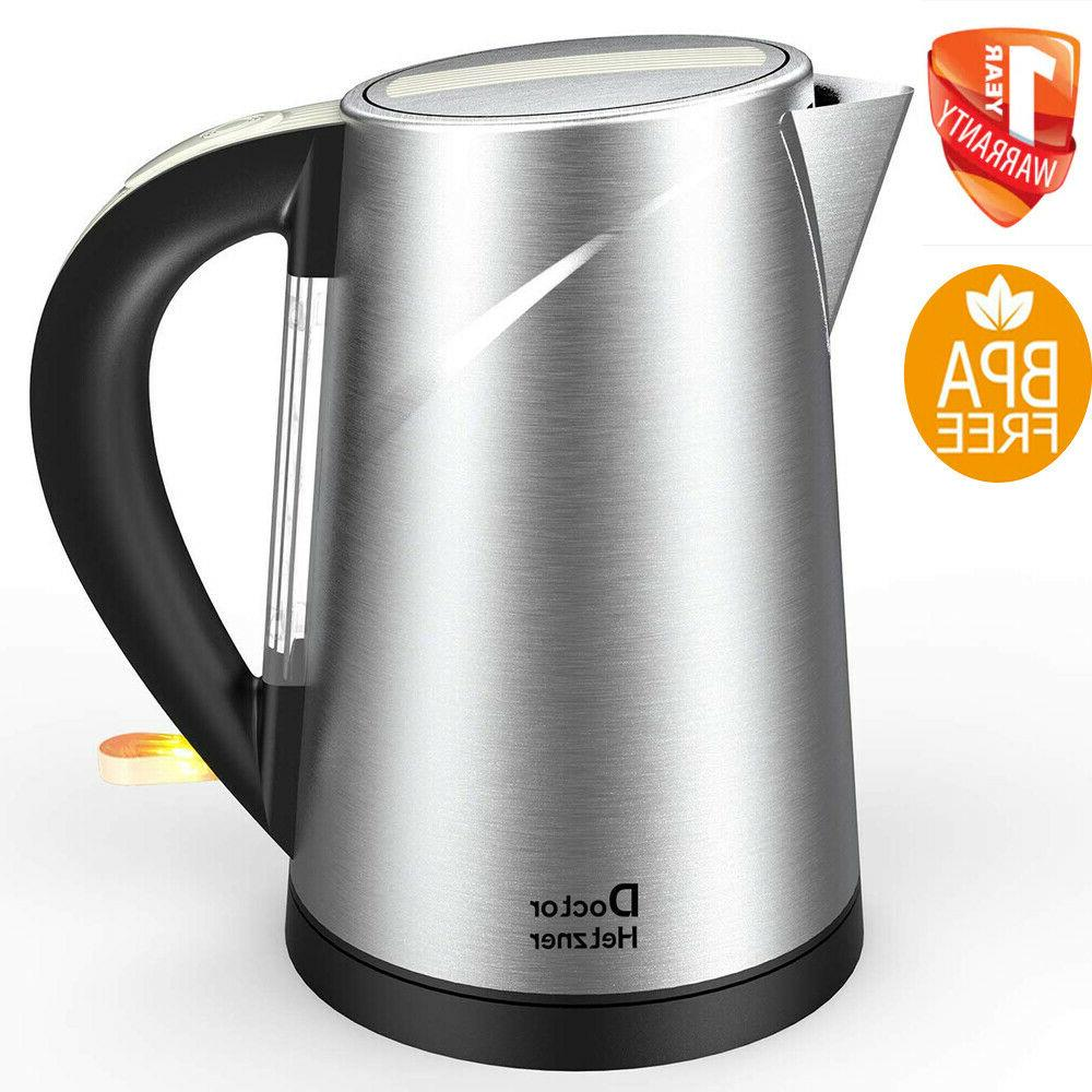 electric kettle tea hot water coffee brew