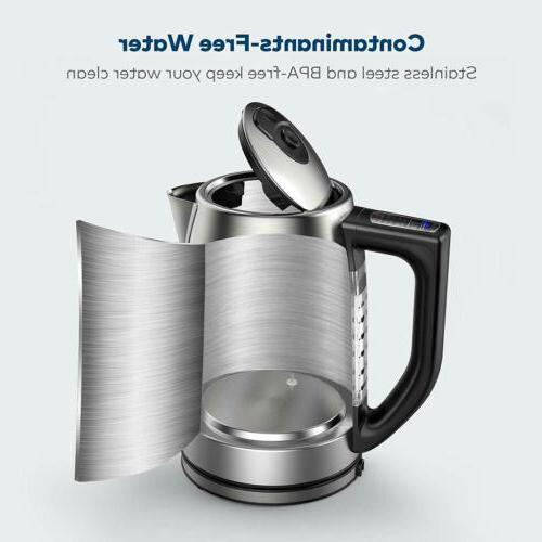 Miroco Temperature Control Stainless Tea Kettle