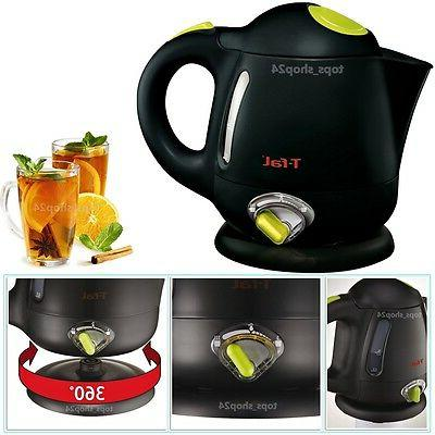 Electric Kettle Hot Water Cordless Travel and Auto